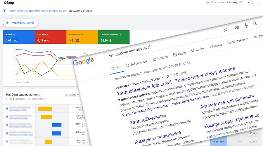 Швидкі продажі з Google